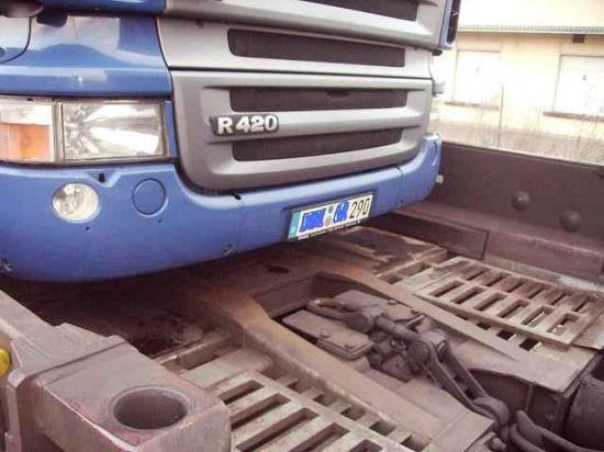 Lkw auf der RoLa