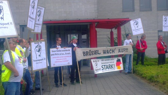 Demo in Lübeck