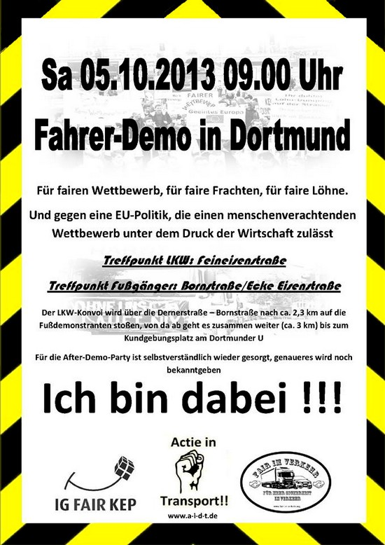 Demo in Dortmund