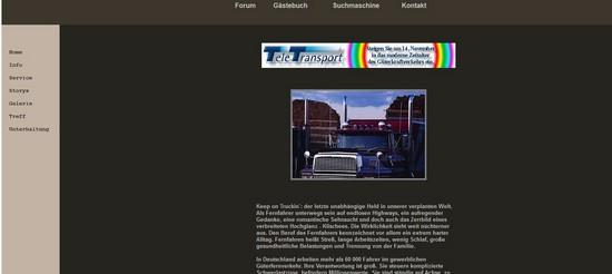 TruckOnline - Der Anfang