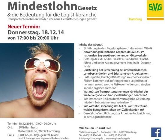 SVG Veranstaltung Hamburg