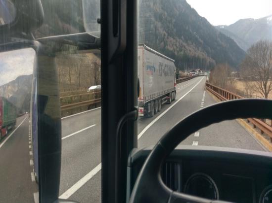 Pause an Brennerautobahn