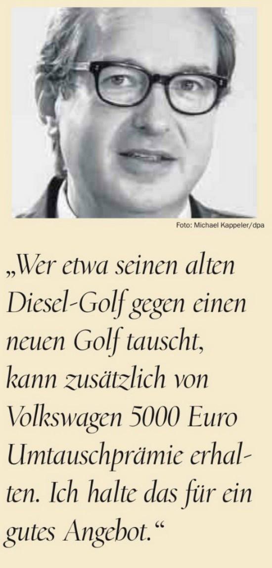 Dobrindt will golf kaufen