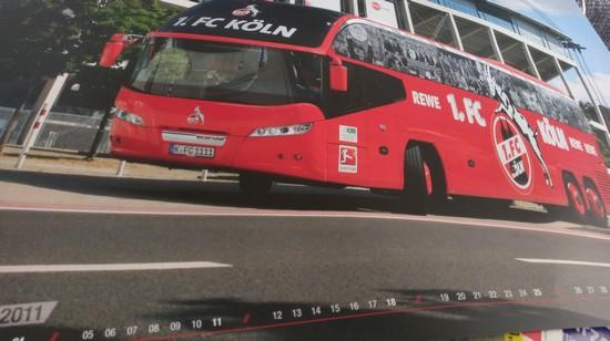 MAN Bus 1. FC Köln