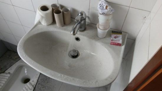 Toilette in Italien