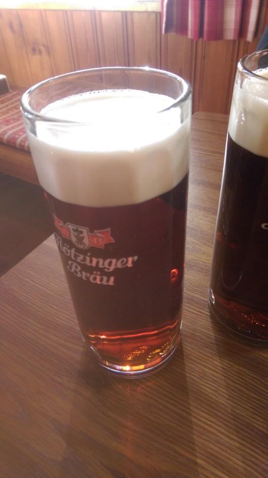 Bier Glas in wilparting