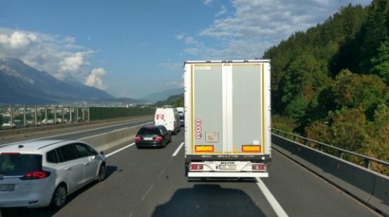 Stau bei Innsbruck