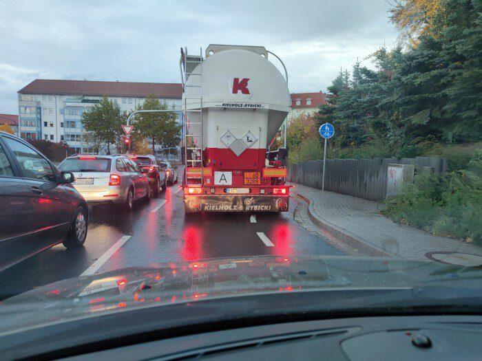 neuer radweg in mühlhausen