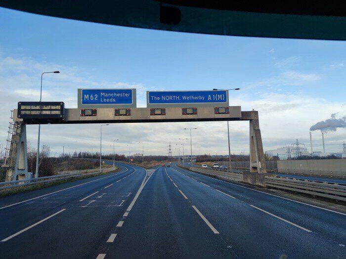 Motorway M 1 England