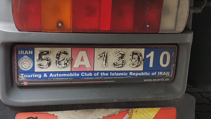 Kfz Kennzeichen Iran