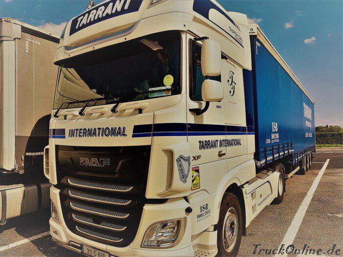 tarrant ireland truck daf